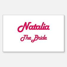Natalia - The Bride Rectangle Decal