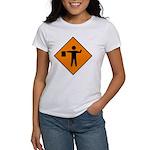 Flagman Sign Women's T-Shirt