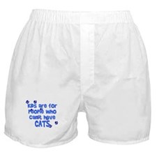 Can't Have Cats Boxer Shorts