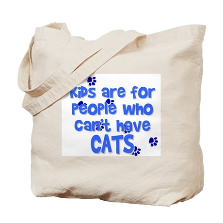Can't Have Cats Tote Bag