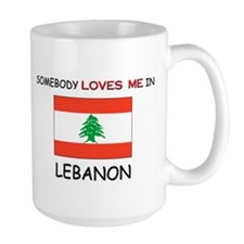 Somebody Loves Me In LEBANON Mug