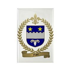 FISET Family Crest Rectangle Magnet (100 pack)
