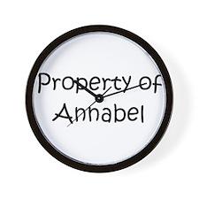 Unique Annabel Wall Clock