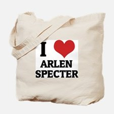I Love Arlen Specter Tote Bag
