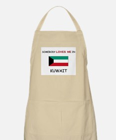 Somebody Loves Me In KUWAIT BBQ Apron