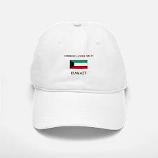 Somebody Loves Me In KUWAIT Baseball Baseball Cap