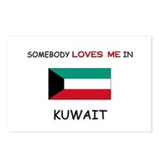 Somebody Loves Me In KUWAIT Postcards (Package of