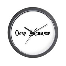 Ogre Archmage Wall Clock