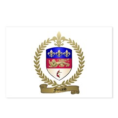 FERRAND Family Crest Postcards (Package of 8)