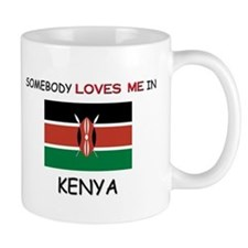 Somebody Loves Me In KENYA Mug