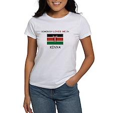 Somebody Loves Me In KENYA Tee
