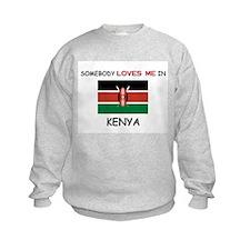 Somebody Loves Me In KENYA Sweatshirt