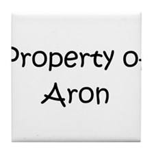 Cool Aron Tile Coaster