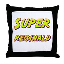 Super reginald Throw Pillow