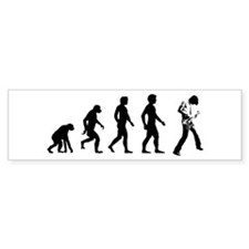 Evolve Rock Star Evolution Bumper Bumper Sticker