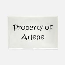 Cool Arlene Rectangle Magnet