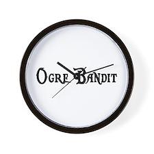 Ogre Bandit Wall Clock