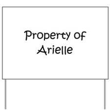 Funny Ariel Yard Sign