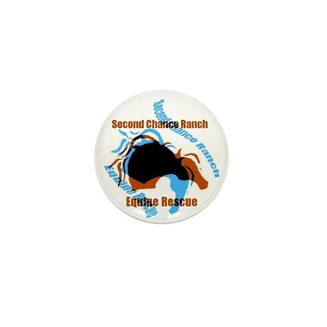 Horse Rescue Mini Button (10 pack)