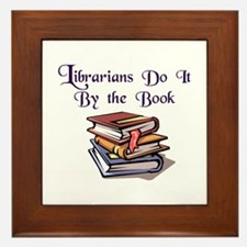 """Do It By the Book"" Framed Tile"
