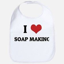 I Love Soap Making Bib
