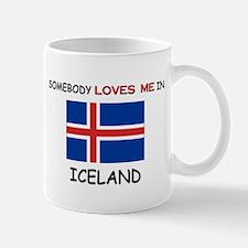 Somebody Loves Me In ICELAND Mug