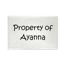 Unique Ayanna Rectangle Magnet