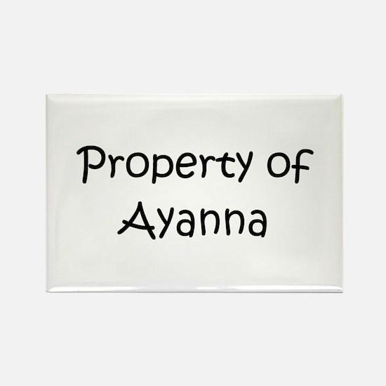 Cool Ayanna Rectangle Magnet