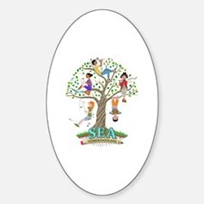 Cute Homeschool conference Sticker (Oval)