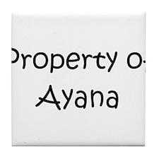 Unique Ayana Tile Coaster