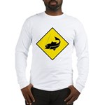 Fishing Area Sign Long Sleeve T-Shirt