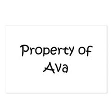 Funny Ava Postcards (Package of 8)