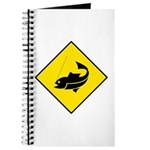 Yellow Fishing Sign - Journal