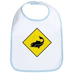 Yellow Fishing Sign - Bib