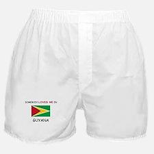 Somebody Loves Me In GUYANA Boxer Shorts