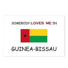 Somebody Loves Me In GUINEA-BISSAU Postcards (Pack