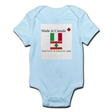 Made in Canada From Italian and Lebanese Parts Inf