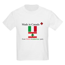 Made in Canada From Italian and Lebanese Parts Kid