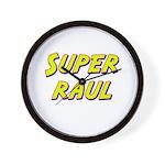 Super raul Wall Clock
