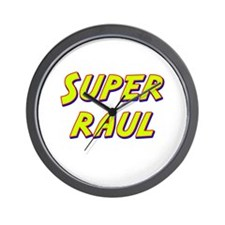 Super raul Wall Clock