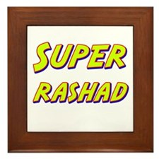 Super rashad Framed Tile
