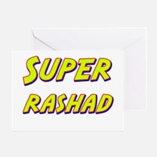 Super rashad Greeting Card