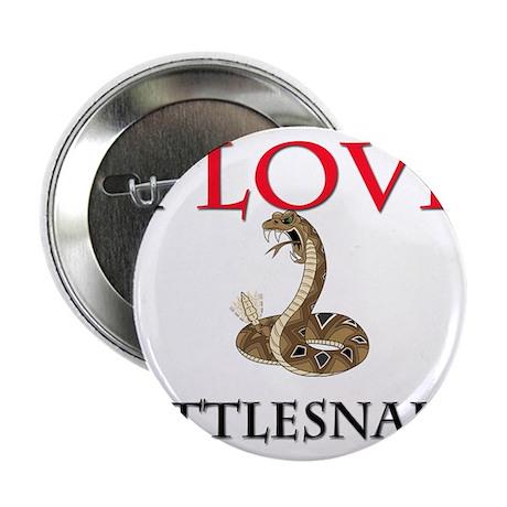 "I Love Rattlesnakes 2.25"" Button"