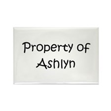 Funny Ashlyn Rectangle Magnet