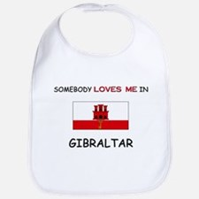 Somebody Loves Me In GIBRALTAR Bib