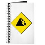 Falling Rocks Sign - Journal