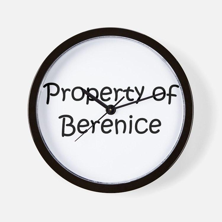 Cute Berenice Wall Clock