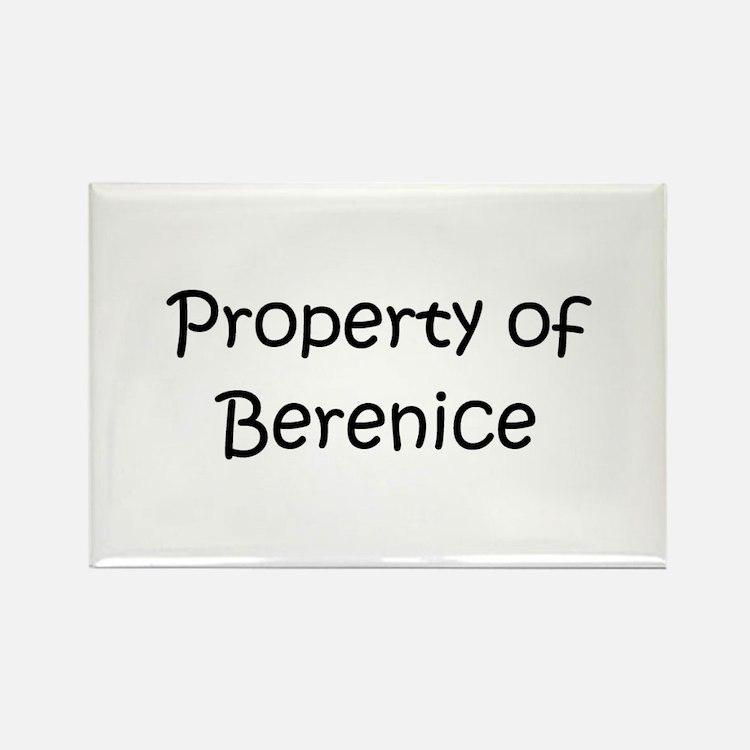Cute Berenice Rectangle Magnet