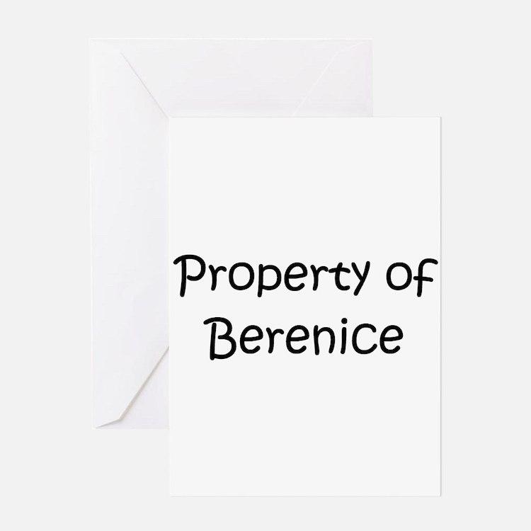 Cute Berenice Greeting Card