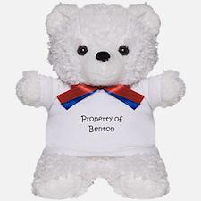 Funny Benton Teddy Bear
